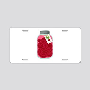 Pickled Beets Aluminum License Plate