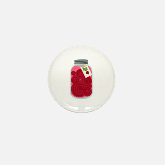 Pickled Beets Mini Button