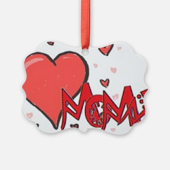 I heart Mommy Ornament