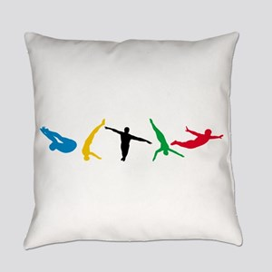 Diving Everyday Pillow
