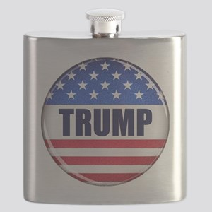 Vote Trump button Flask
