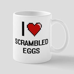 I Love Scrambled Eggs Digital Design Mugs