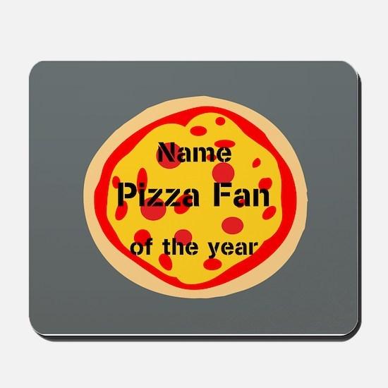 Funny Pizza Fan Mousepad