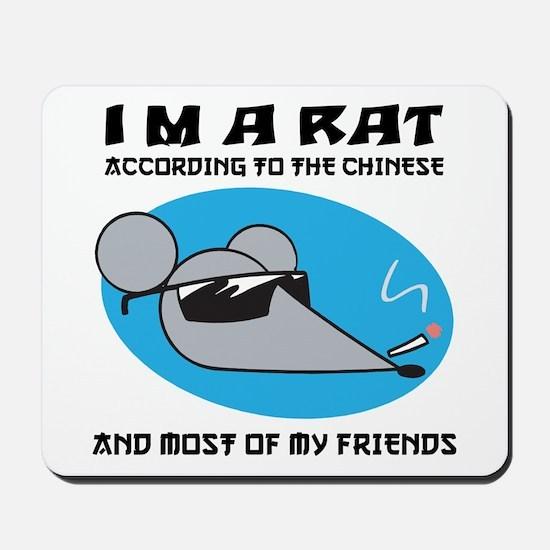I'M A Rat Mousepad