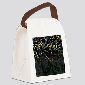 Army Of Spiders Canvas Lunch Bag
