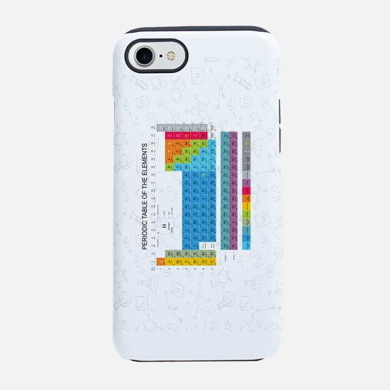 Periodic Table Of Elements W iPhone 8/7 Tough Case
