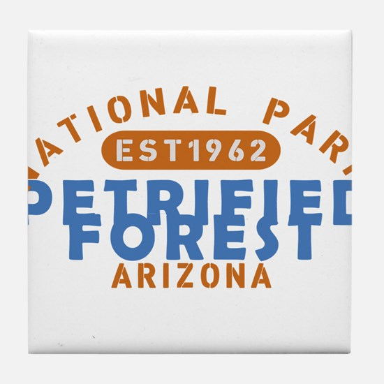 Petrified Forest - Arizona Tile Coaster