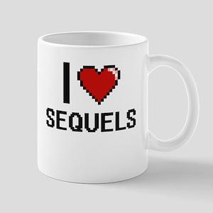 I Love Sequels Digital Design Mugs