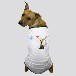 Christmas-Donkey Dog T-Shirt