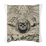 ChewNonagram2015 Woven Throw Pillow