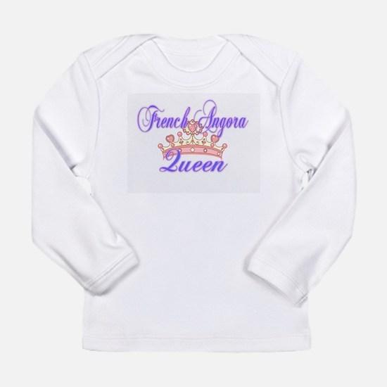 French Angora Queen Long Sleeve T-Shirt