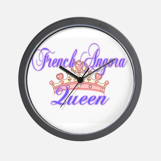 French Angora Queen Wall Clock