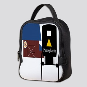 Pennsylvania Amish Neoprene Lunch Bag