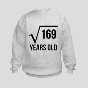 13 Years Old Square Root Sweatshirt