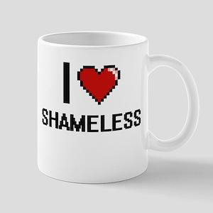 I Love Shameless Digital Design Mugs