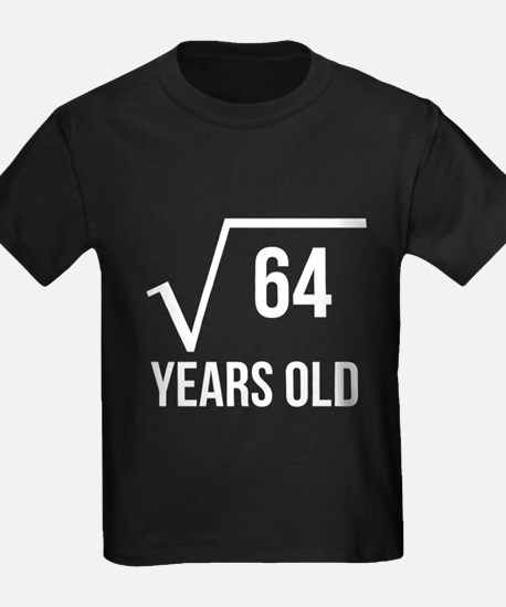 8 Years Old Square Root T-Shirt
