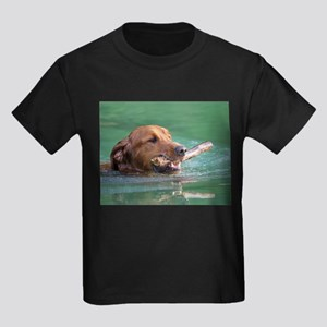 Happy Retriever Dog T-Shirt