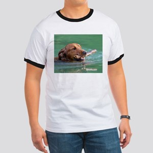 Happy Retriever Dog T-Shirt