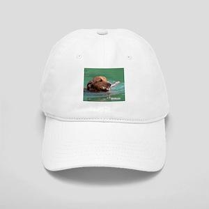 Happy Retriever Dog Cap