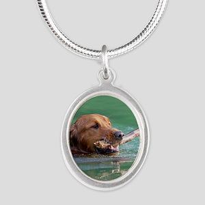 Happy Retriever Dog Necklaces
