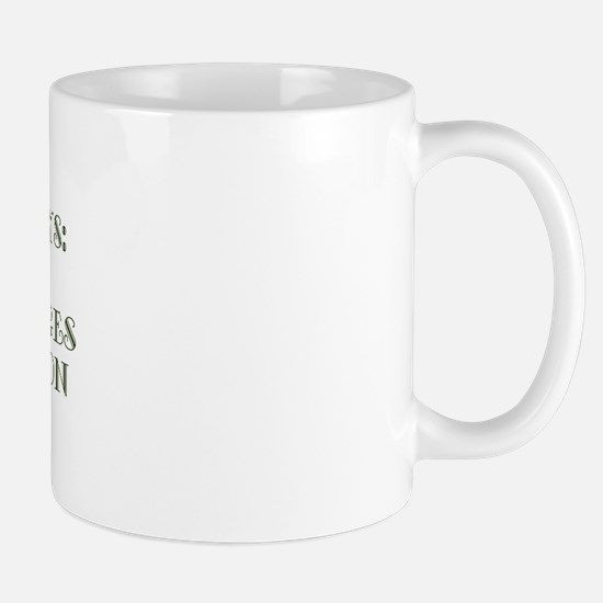 Fossilization Mug