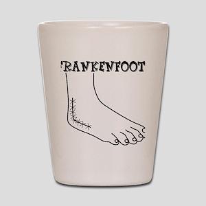 Frankenfoot Shot Glass