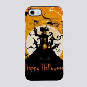 Castle On Halloween Night iPhone 8/7 Tough Case
