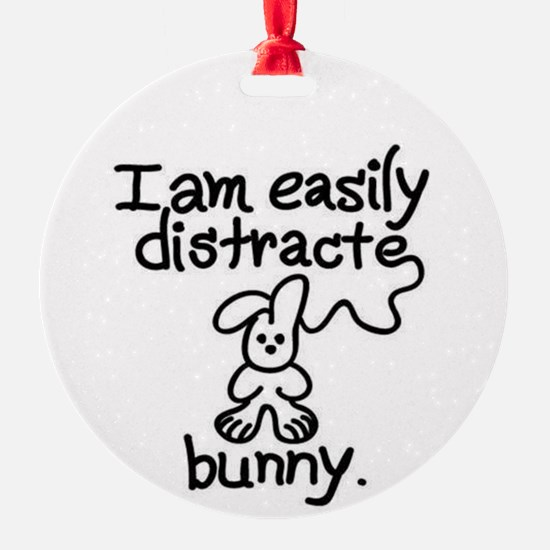 Easily Distracted Ornament