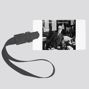 Freud And Cats Luggage Tag