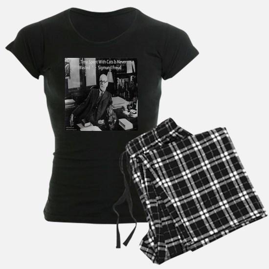 Freud And Cats Pajamas