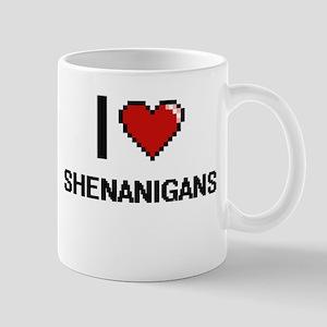 I Love Shenanigans Digital Design Mugs