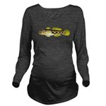 Round Goby Long Sleeve Maternity T-Shirt