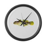 Round Goby Large Wall Clock