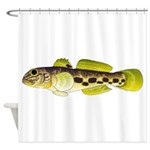 Round Goby Shower Curtain
