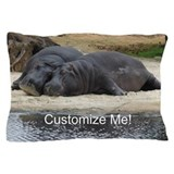 Hippo Pillow Cases