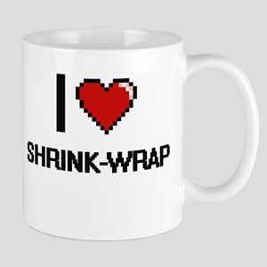 I Love Shrink-Wrap Digital Design Mugs