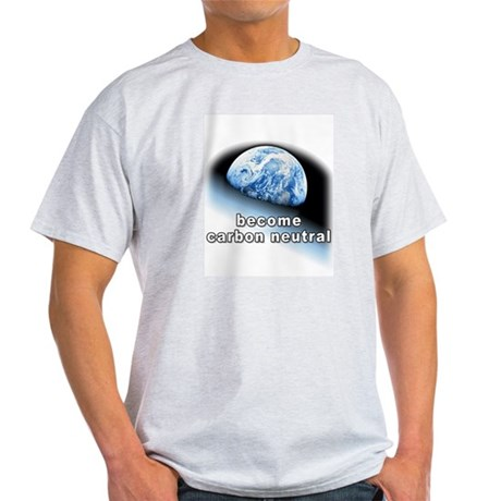 become carbon neutral Ash Grey T-Shirt