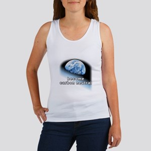 become carbon neutral Women's Tank Top