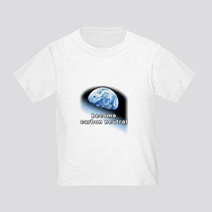 become carbon neutral Toddler T-Shirt