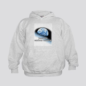 become carbon neutral Kids Hoodie