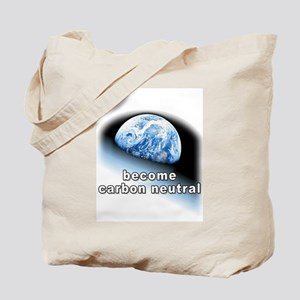 become carbon neutral Tote Bag