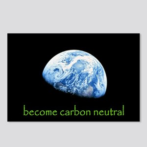 become carbon neutral Postcards (Package of 8)
