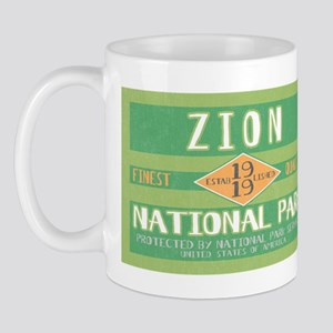 Zion National Park (Retro) Mug