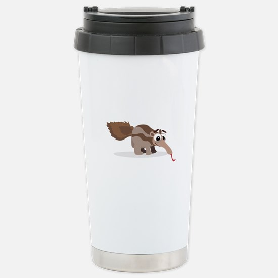 Anteater Cartoon Travel Mug