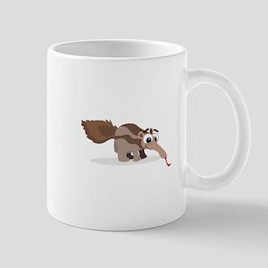 Anteater Cartoon Mugs