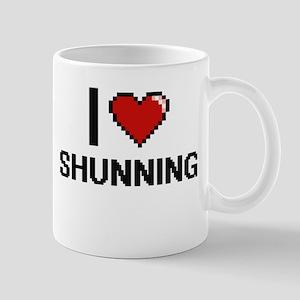 I Love Shunning Digital Design Mugs