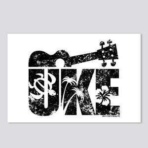 Uke Ukulele Postcards (Package of 8)