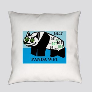 GET DAT PANDA WET Everyday Pillow
