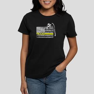 Texas Police Dispatcher Flag Gifts Shirt T-Shirt