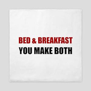 Bed And Breakfast Queen Duvet